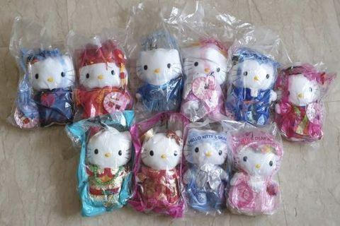 Hello Kitty and Dear Daniel McDonalds Collectibles