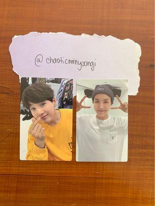 BTS Memories Of 2017 Blu-Ray Official Photocard
