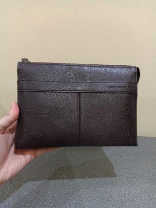 Leather Pouch Hush Puppies
