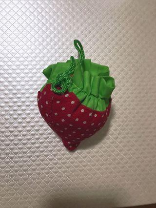 草莓環保袋