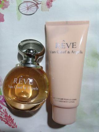 Van Cleef & Arpels Perfume & Cream 香水和身體乳套裝