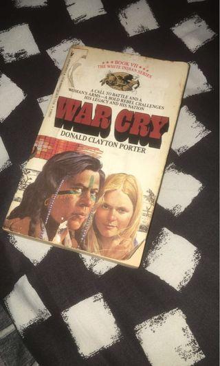 War cry Novel