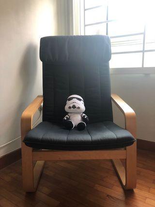 Used IKEA armchair