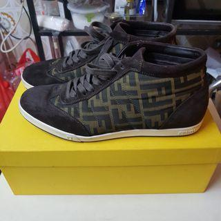 Fendi sneaker size 7 with receipt ngee ann city