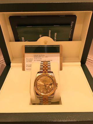 Rolex Datejust Oyster Perpetual 116233 63603 New 36