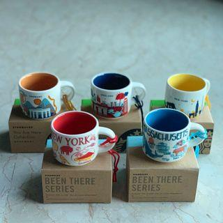 SALE! New Starbucks England Germany New York Massachusetts YAH BTS Ornament Mug You Are Here Been There Series
