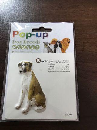 🚚 立體狗狗冰箱磁鐵