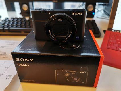 Sony rx100 Mark V and extras