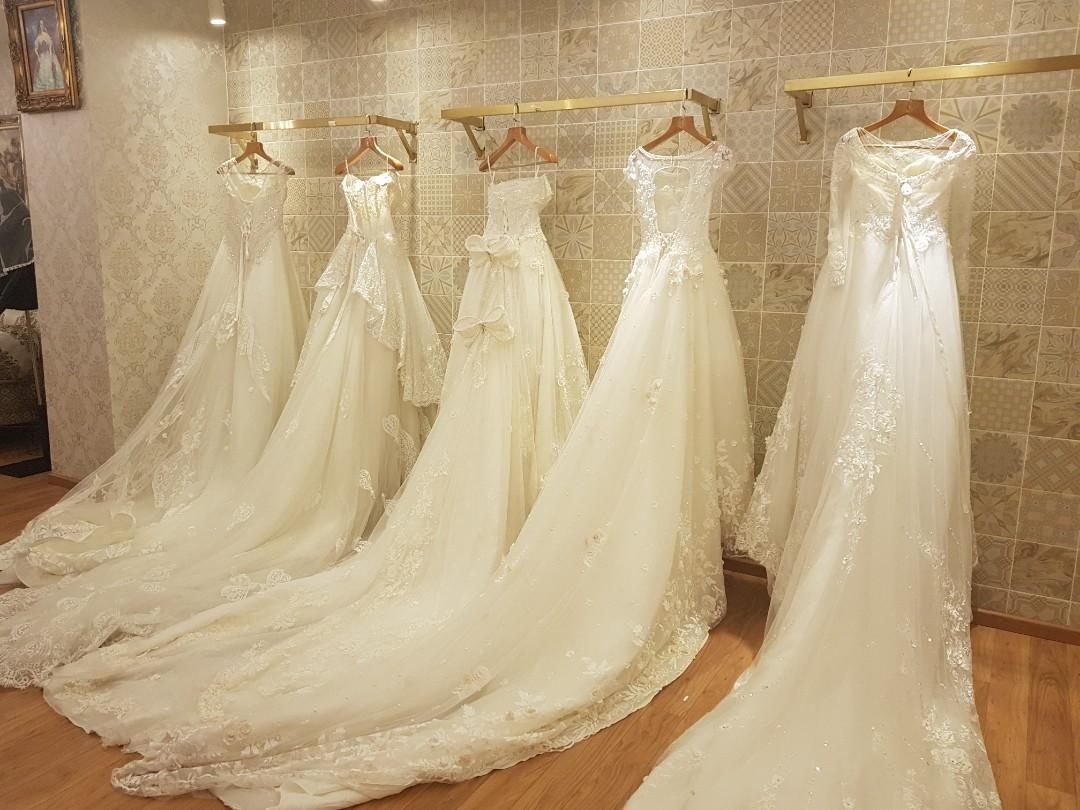 $200-$300 bring your own bag wedding gown sales