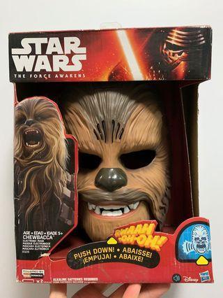星球大戰 Star Wars Chewbacca mask 發聲面具