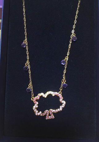 SWAROVSKI Lovely Necklace 彩色水晶頸鏈