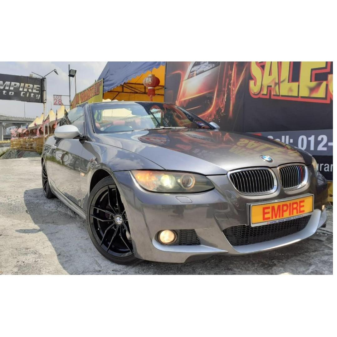 2008/2011 BMW 325i M-SPORT MODEL E92 !! 2 DOOR COUPE !! HARD TOP CONVERTIBLE CABRIOLET !! LIMITED EDITION !! TWIN POWER TURBO !! NEW FACELIFT !! PADDLE SHIFT / PUSH START / FULL NAPPA SPORT ELECTRICAL LEATHER SEATS AND ETC !! COLLECTORS ITEM