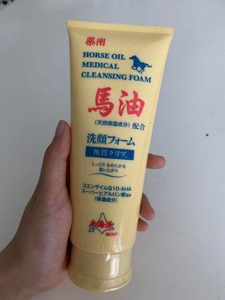 Horse Oil Cleansing Foam