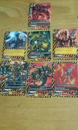 Buddyfight Cards Danger world Tyrant