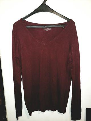 Sweater Galleries Lafayette, beli di pacific place, color lebih bagus asli daripada foto, very good condition, size 3 (sekitar M)