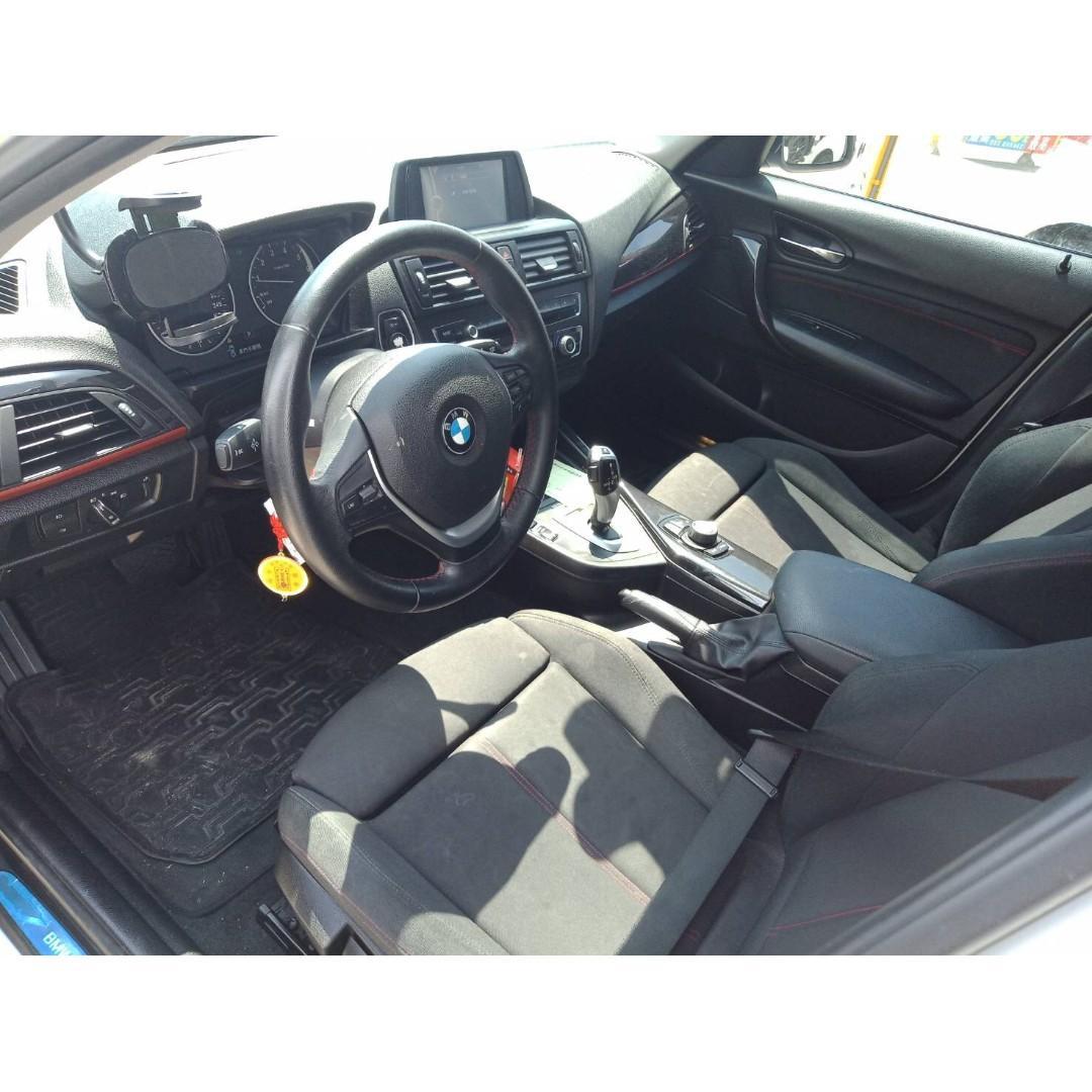 2013年 BMW 116I 1.6L 【0元交車 全額貸 超額貸款】