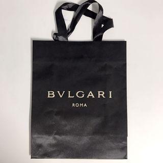 Bvlgari名牌紙袋