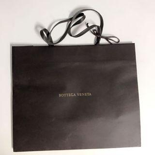 Bottega  Veneta紙袋連蝴蝶結及禮物咭