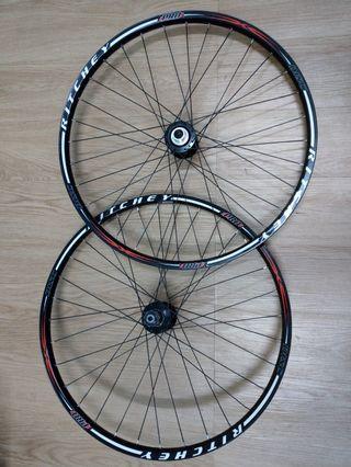 "26""MTN alloy wheelset"