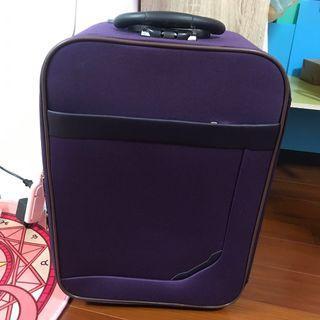 紫色22寸行李箱