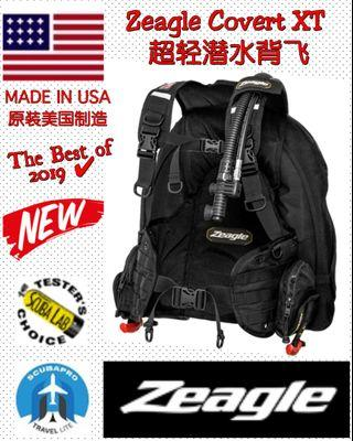 NEW Zeagle Covert XT BCD, MADE IN THE USA