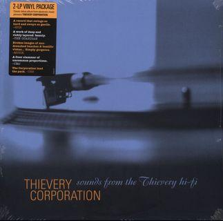 Thievery Corporation - Sounds From The Thievery Hi-Fi (Vinyl LP reissue)