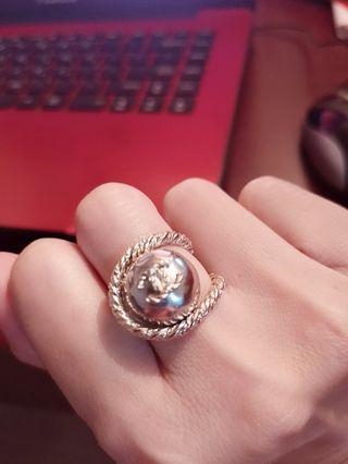chanel珍珠戒
