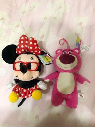 迪士尼娃娃 米妮/抱哥