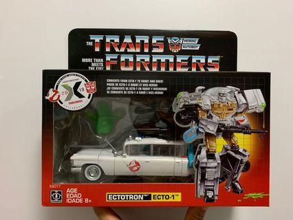 變形金剛 transformers 捉鬼敢死隊捉鬼車 ectotron ecto-1