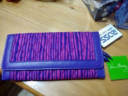 Vera Bradley trifold wallet from USA