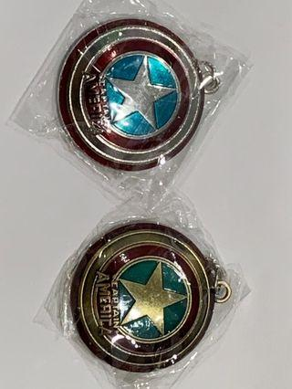 Avengers Captain America keychain