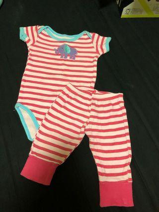 🚚 baby pajama set