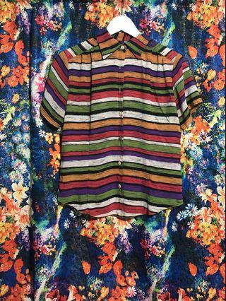 🚚 古著 vintage 襯衫 歐式復古