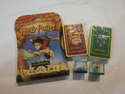 All- Harry Potter Quidditch Card Game + 2 dices