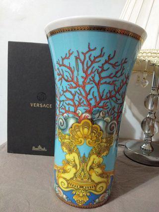 德國 Rosenthal Versace凡賽斯海底寶藏26cm花器