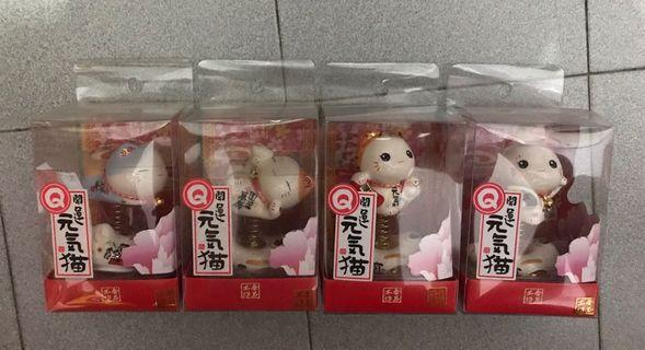 """Fortune cat car display 3"""" size"""