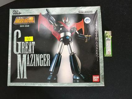 中古 GX-02 超合金魂 Soul of Chogokin Great Mazinger 鐵甲萬能俠 金鷹號 永井豪 杜劍龍 兜甲兒 無敵鐵金剛