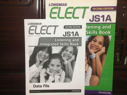 Longman Elect JS1A Listening and Integrated Skills Book