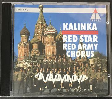 俄羅斯Red Star Red Army Chorus - Kalinka CD Album