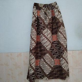 Rok Batik skirt baru gress ada karet