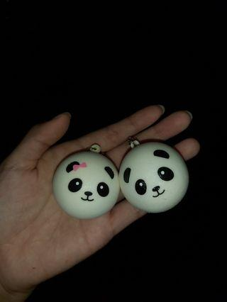 PANDA COUPLE SQUISHY