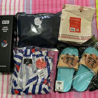 BT21/BTS merchandise
