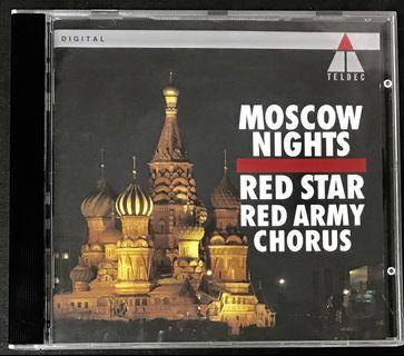 俄羅斯Red Star Red Army Chorus - Moscow Nights CD Album