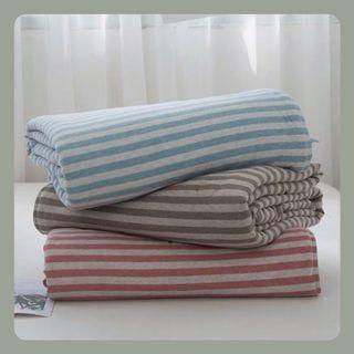 日式天竺棉冷氣被 Japanese Style Tianzhu Cotton  Summer Blanket