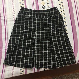 🚚 冬季古著格紋裙vintage