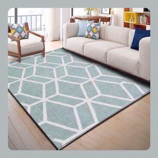 #北歐風印花地毯      Classic Patterned Rug