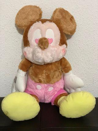 Authentic Mickey Mouse Plushie