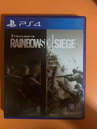 PS4 Rainbow 6 Siege