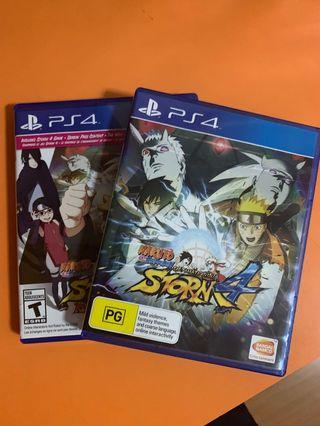 PS4 Naruto 4 Ultimate Storm