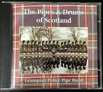 蘇格蘭Grampian Police Pipe Band - The Pipes & Drums Of Scotland CD Album
